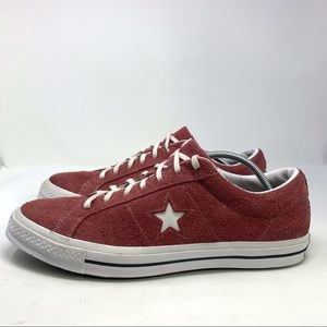 Converse Suede Unisex Lace Up Low Cut Sneakers 15